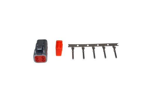AEM Electronics DTM-Style 4-Way Plug Connector Kit (35-2624)