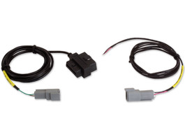 AEM Electronics CD Digital Dash Display Plug & Play Adapter Harness for OBDII CAN (2008-Up Vehicles), Includes CD-7 Plug & Play Power Cable (30-2217)