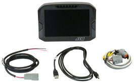 AEM Electronics CD-7G Carbon Fiber Enclosed Non-Logging Race Display, CAN Input Only