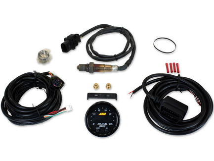 AEM Electronics X-Series Wideband UEGO AFR Sensor Controller Gauge with OBDII Connectivity (30-0334)