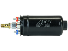 AEM Electronics 400lph Metric High Flow, high pressure Inline Fuel Pump (50-1009)