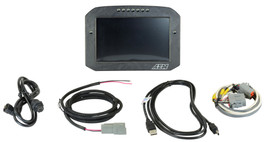 AEM Electronics CD-7FL Carbon Logging Flat Panel Digital Dash Display (30-5701F)