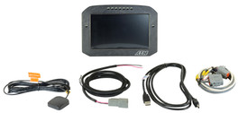 AEM Electronics CD-7FG Carbon GPS-Enabled Flat Panel Digital Dash Display (30-5702F)