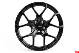 "APR A01 Satin Black Flow Formed Wheel, 19x8.5"" ET45 5x112mm bolt pattern (WHL00014)"