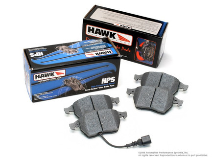 Hawk Front Car Brake Pads for street and occasional track use
