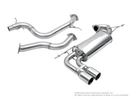 NEUSPEED Stainless Steel Cat-Back Exhaust for FWD