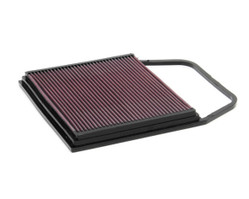 K&N FREE-FLOW REPLACEMENT AIR FILTER for 2007-2013 135I/335I Compatible w/ Dinan Intake and Stock Air Box