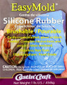 Easy Mold Silicone Rubber 1lb.