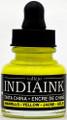 Acrylicos Vallejo India Ink Yellow 30ml