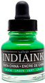 Acrylicos Vallejo India Ink Green 30ml