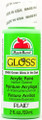 Apple Barrel ® Gloss™  Glow In The Dark  Green, 2 oz.