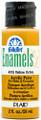 FolkArt ® Enamels™ - Yellow Ochre, 2 oz.