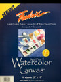 Fredrix® Watercolor Canvas Pad 12 x 16 inches 10 sheets