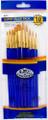 Royal Langnickel Super Value Pack Golden Taklon Brush Set of 10 Pieces No. SVP-7