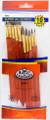 Royal Langnickel Super Value Pack Sable Brush Set of 10 Pieces No. SVP-6