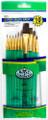 Royal Langnickel Super Value Pack Sable & Camel Brush Set of 10 Pieces No. SVP-3