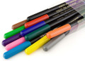 Yoken Fabric Text Art Marker Set of 12 colors