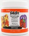 FolkArt ® Texture Paint - Orange 4 oz.