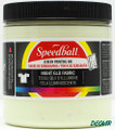 Speedball Screen Printing Ink Glow in the Dark White 8 oz