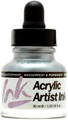 Acrylicos Vallejo Acrylic Artist Ink Old Silver 30ml
