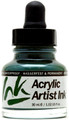 Acrylicos Vallejo Acrylic Artist Ink Olive Green 30ml
