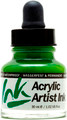 Acrylicos Vallejo Acrylic Artist Ink Green 30ml