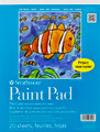 Strathmore Series 100 Paint Pad 9x12 in. 20 sheets 27-209 (tape bound)
