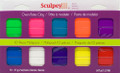 Sculpey III Multipack, Brights 10pc