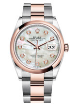 Rolex Datejust 36mm Two Tone 126201MOPDO