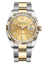 Rolex Datejust 36mm Two Tone 126233CXO