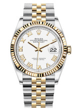 Rolex Datejust 36mm Two Tone 126233WRJ