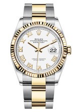Rolex Datejust 36mm Two Tone 126233WRO