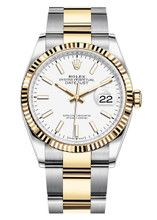 Rolex Datejust 36mm Two Tone 126233WXO