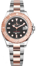 Rolex Yacht-Master Everose 37mm Black  268621