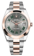 Rolex Datejust 41mm Everose Gold and Steel 126301 GRO