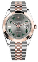 Rolex Datejust 41mm Everose Gold and Steel 126301 GRJ