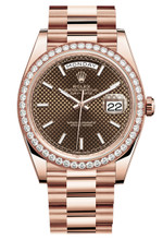 Rolex Rose Gold President Day Date 40 228345CPX