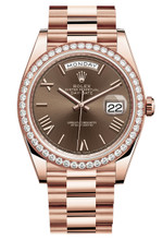 Rolex Rose Gold President Day Date 40 228345CR