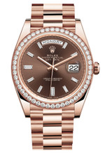 Rolex Rose Gold President Day Date 40 228345CDX