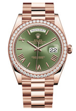Rolex Rose Gold President Day Date 40 228345GR