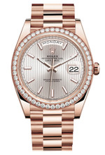 Rolex Rose Gold President Day Date 40 228345SPX