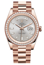 Rolex Rose Gold President Day Date 40 228345SX