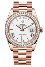 Rolex Rose Gold President Day Date 40 228345WR
