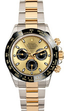 Rolex Pre-Owned Yellow Gold Daytona 116523 Custom Champagne Dial & Ceramic Bezel