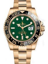 Rolex GMT-Master II Gold 116718 Green