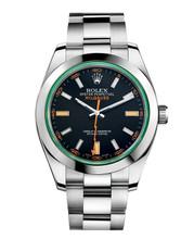 Rolex Green Sapphire Milgauss 116400 GV