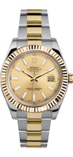 Rolex 41mm  Datejust II 116333 Champaign