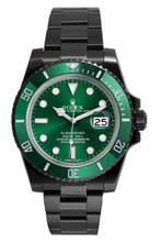 Rolex Submariner Green 116610LV DLC-PVD