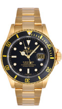 Rolex Submariner Black Pre-Owned 16618