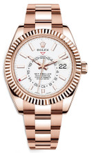 Rolex Rose Gold Sky Dweller 326935 White